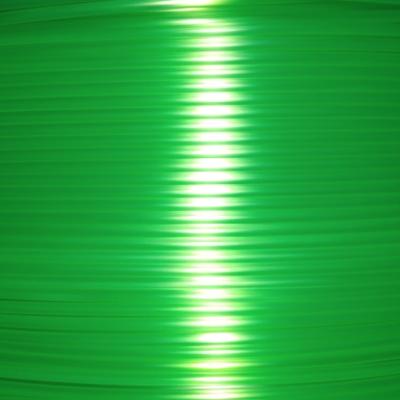 Pet-g зеленый флуоресцентный цвет прозрачный 1.75мм
