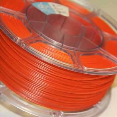 Pet-g оранжевый флуоресцентный цвет 1.75мм