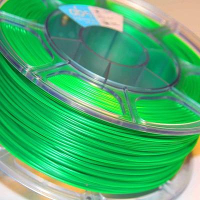 Pet-g зеленый флуоресцентный цвет 1.75мм