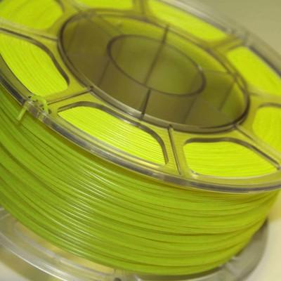 Pet-g салатовый флуоресцентный цвет 1.75мм